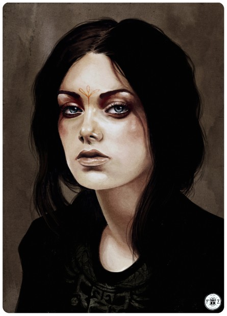 Pixelgrafikus festmény másik nagy kedvencem, Feline Zegers alkotásai közül