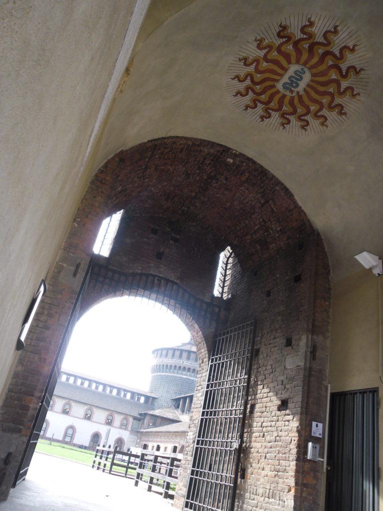 Sforza kastély