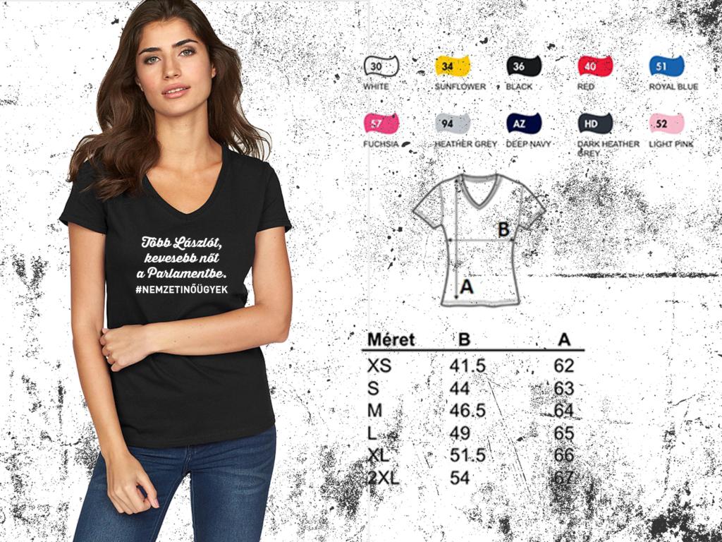 #nemzetinügyek - pólók